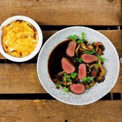 Helgpåse - Kökets vilda meny med renytterfilé 399:- (För 2 personer)